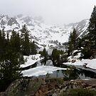 Upper Sardine Lake ~ Sierra Buttes by Patty Boyte
