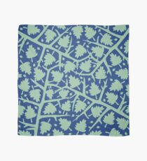Hawthorn Tree pattern blue/mint Scarf