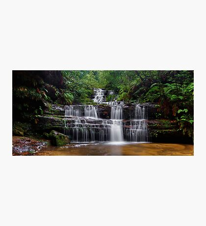 Flowing Terrace Falls Photographic Print