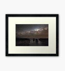 Milky Way Shadow Framed Print