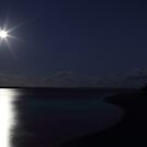 Fullmoon over Fraser Island by paulinea