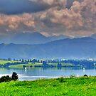 Lake Forggensee Bavaria Germany by Daidalos