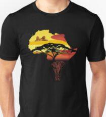 africa, elephant, lion Unisex T-Shirt