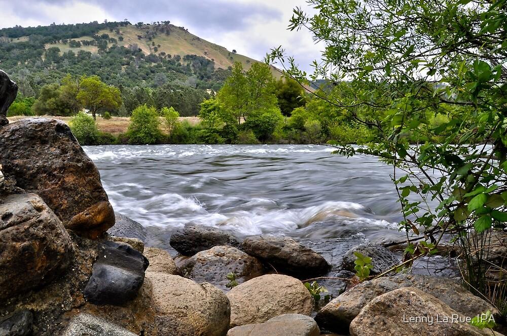 American River at Coloma, CA by Lenny La Rue, IPA