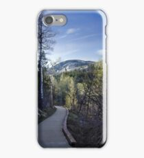 On The Way To Fish Creek Falls iPhone Case/Skin