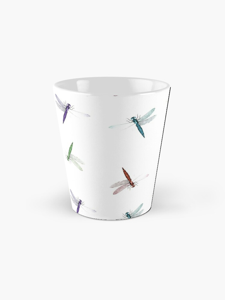 Alternate view of Colourful Dragonfly Design Mug
