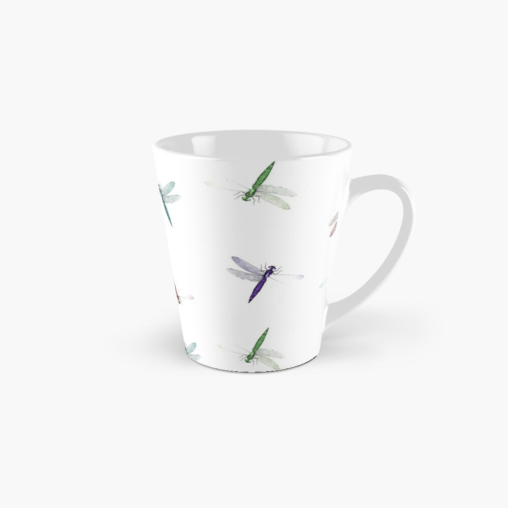 Colourful Dragonfly Design Mug