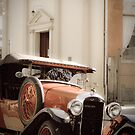 Vintage Auto by Jane Keats