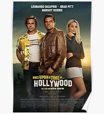 Once upton time in hollywood poster Poster
