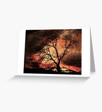 Fire Hill Greeting Card