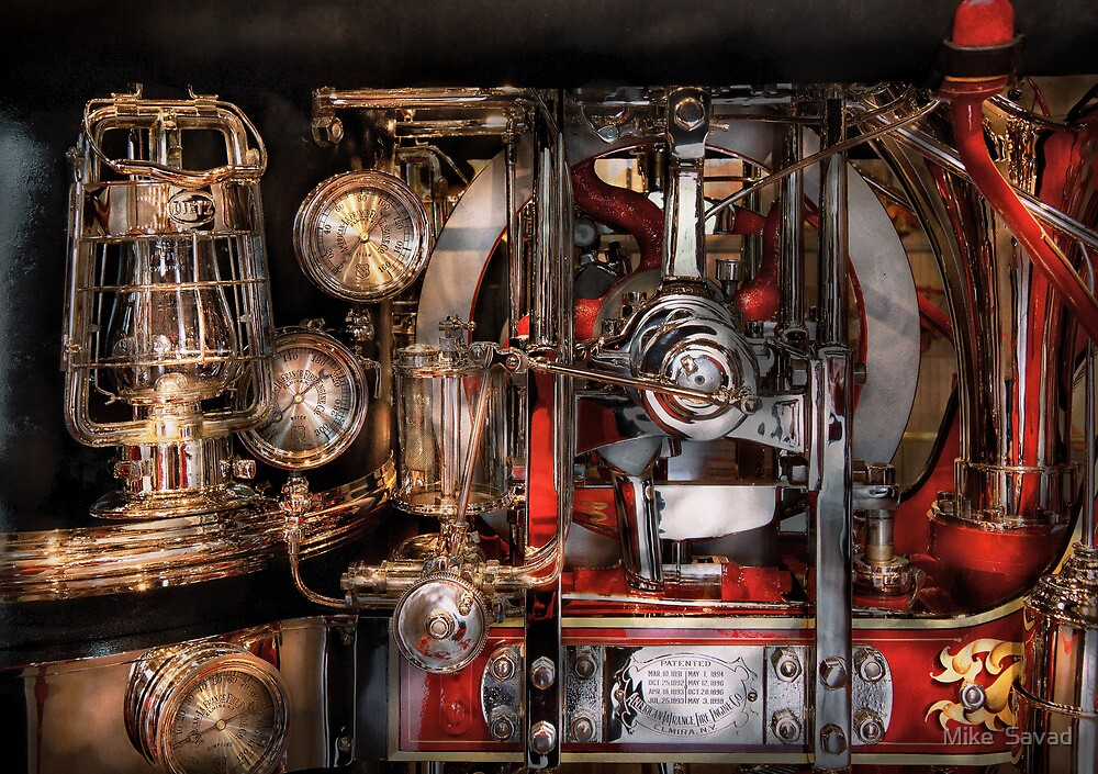 Steampunk - Check the gauges  by Michael Savad
