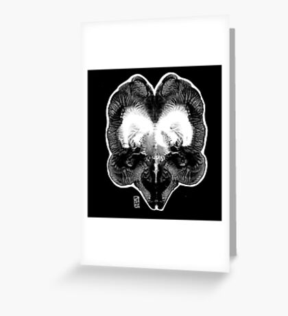 Enlightenment of the Dark Greeting Card