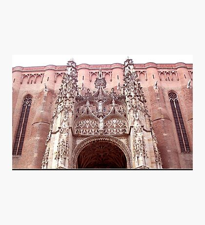 Splendid meridional gothic cathedral Photographic Print