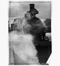 Steam Ranger At the Station Poster