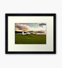 A Glider or Two Framed Print