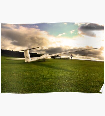 A Glider or Two Poster