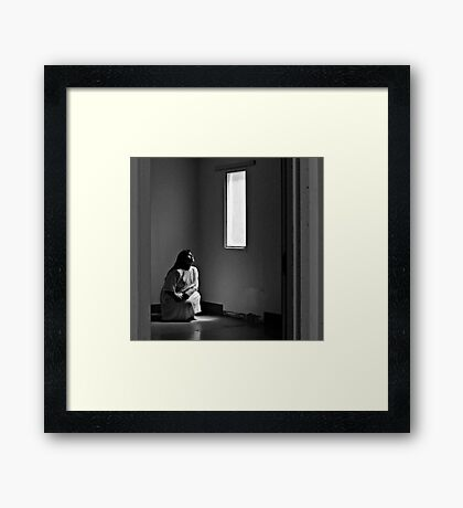 """Johnny Coat, The Psychiactric Center """"Chapman Unit"""" Framed Print"""