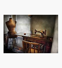 Sewing - A tailors life  Photographic Print