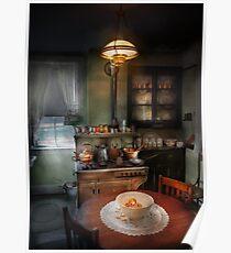 Chef - Kitchen - 1908 kitchen Poster
