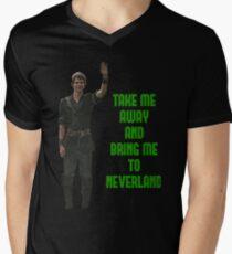 Peter Pan Men's V-Neck T-Shirt