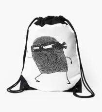 Sal Left Thumb - The Amazing World of Gumball Drawstring Bag