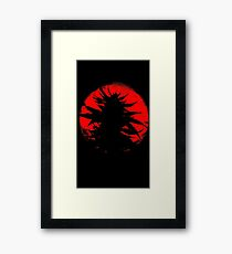 The Bud Rises From the East Framed Print