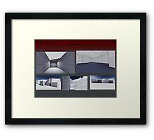 render 9 Framed Print