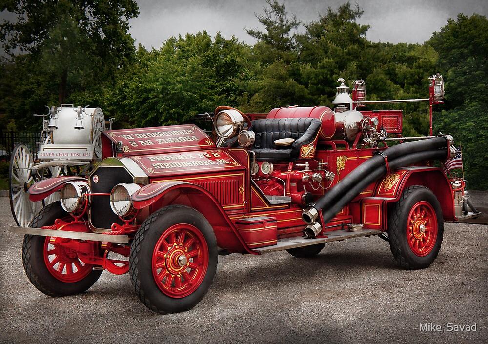 Fireman - Phoenix No2 Stroudsburg, PA 1923  by Michael Savad