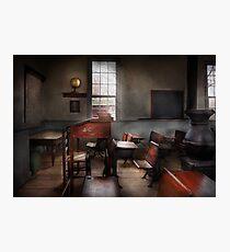 Teacher - The education system Photographic Print