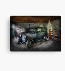 Automotive - Car - Granpa's Garage  Canvas Print