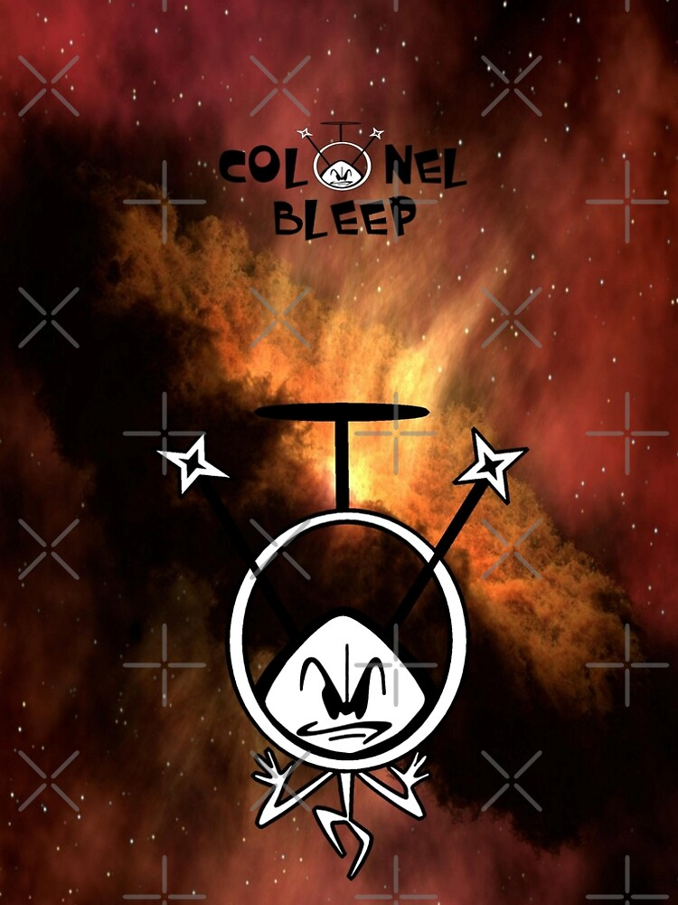 Colonel Bleep in the Cosmos ! by michaelrodents