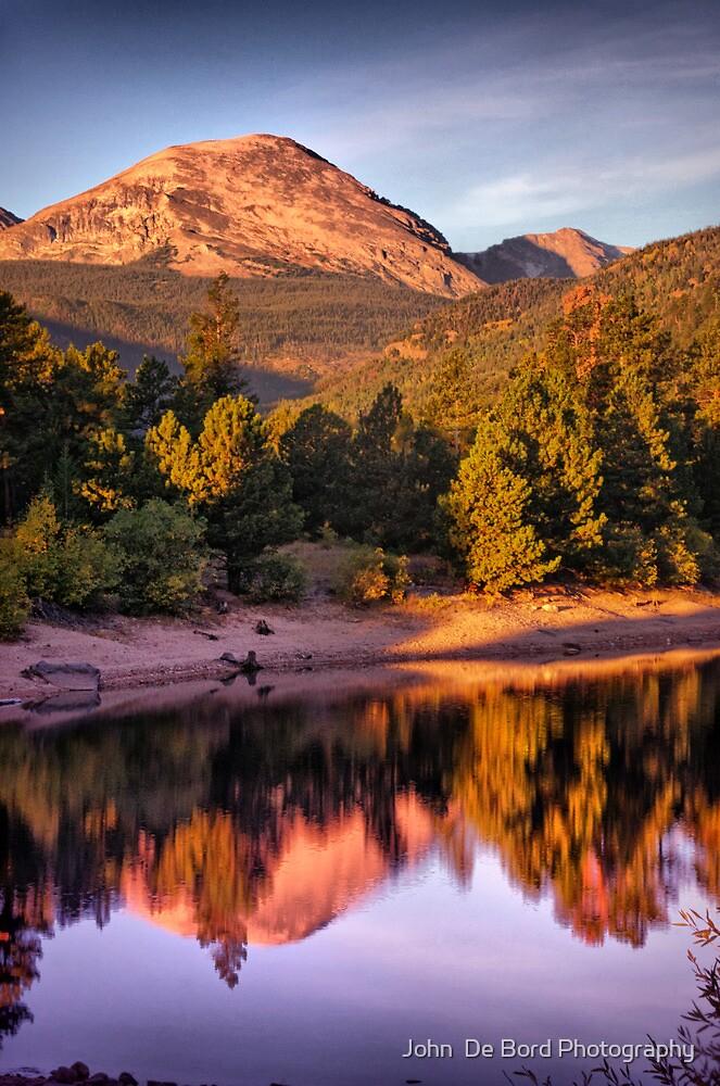 Morning Light Of The Mountain by John  De Bord Photography