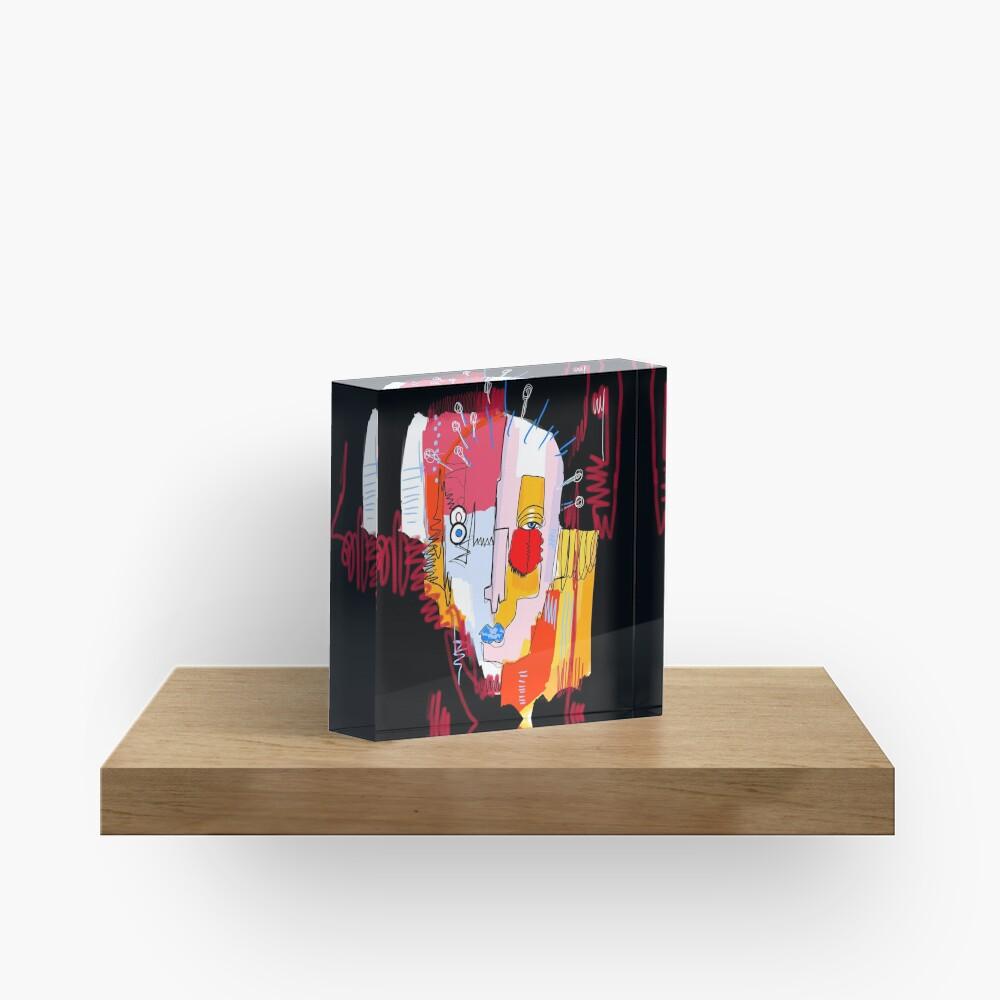 Fragments Acrylic Block