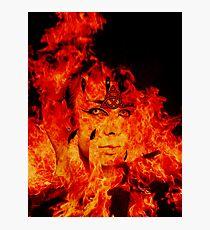 Fire Warlock Photographic Print