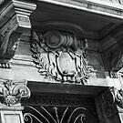 Ornate Doorway & Balcony by TonyGeary
