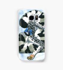 Snow Leopard Boy Samsung Galaxy Case/Skin