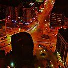 City Night Scene by TonyGeary