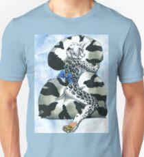 Snow Leopard Boy Unisex T-Shirt