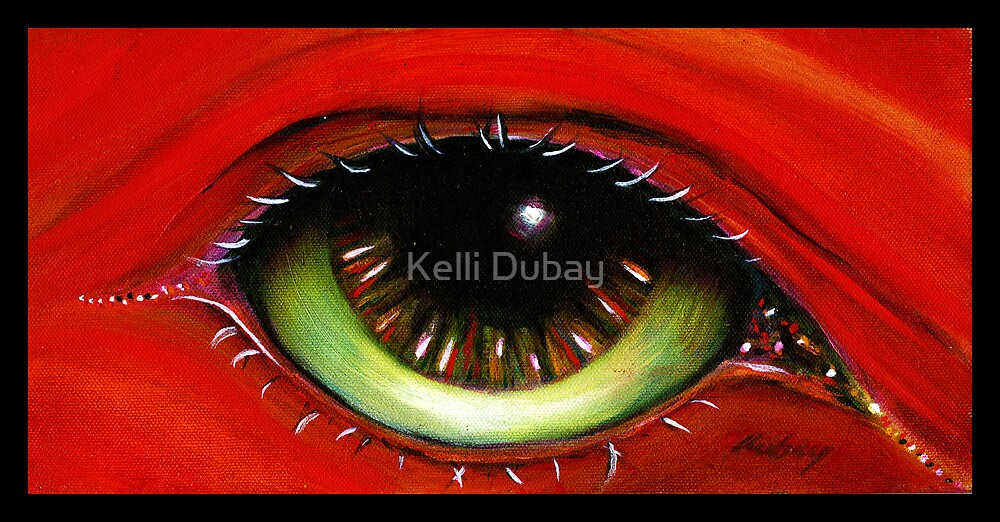 Red Eye   by Kelli Dubay