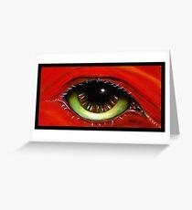 Red Eye   Greeting Card