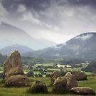 Keswick Stone Circle, Lake District, Cumbria by RodneyCleasby