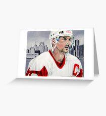 Steve Yzerman Greeting Card