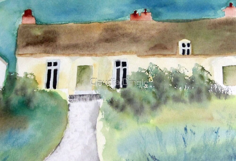 the Green's cottage by Claudia Dingle