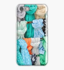 colored fabrics iPhone Case/Skin