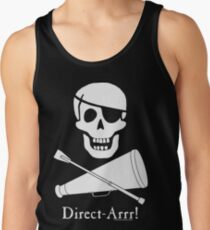 Direct-Arrr! White Design Tank Top