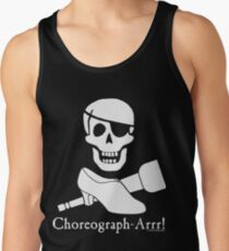 Choreograph-Arrr! White Design Tank Top