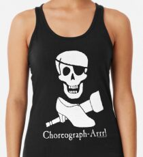Choreograph-Arrr! White Design Women's Tank Top