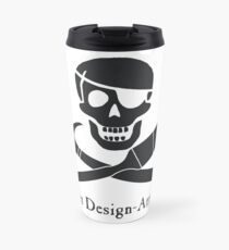 Set Design-Arrr! Black Design Travel Mug