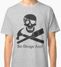 Set Design-Arrr! Black Design Classic T-Shirt