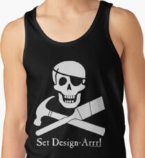 Set Design-Arrr! White Design Tank Top